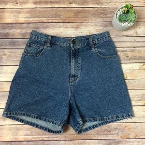 Vintage Great Land Mom High Waist Jean Shorts